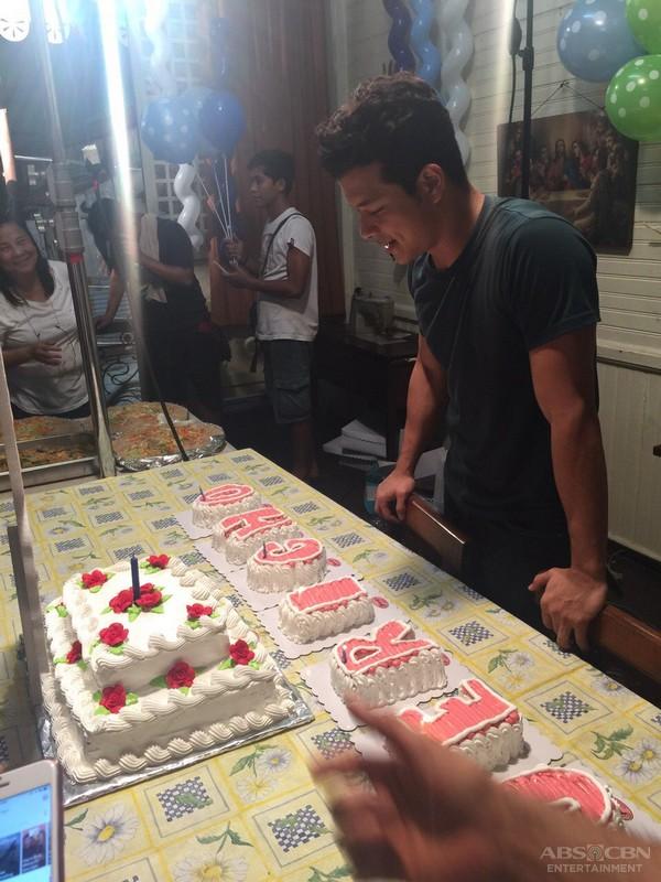 On The Set of Magpahanggang Wakas: Happy Birthday, Jericho!